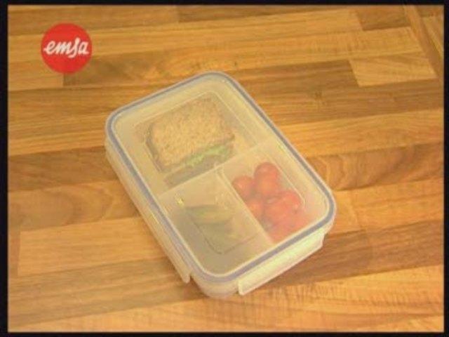 EMSA CLIP & CLOSE Frischhaltedosen Video 2