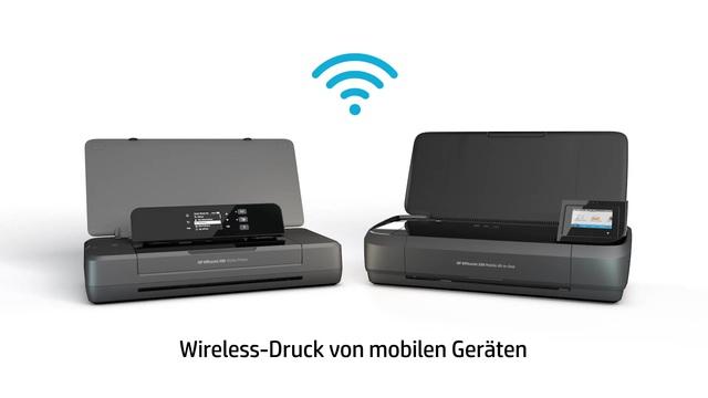 HP - OfficeJet Mobildrucker 200 / OfficeJet 250 Mobile All-in-One Video 3