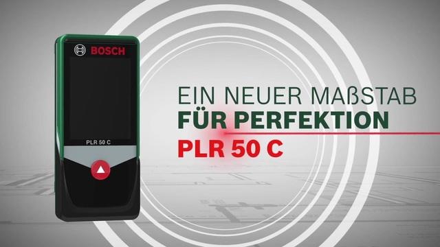 Bosch plr 50c laser entfernungsmesser grün schwarz lufthansa