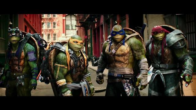 Teenage Mutant Ninja Turtles - out of the Shadows Video 3