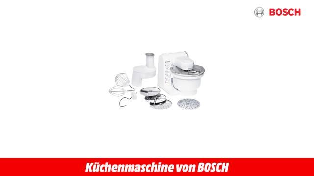 Mum 4427 Weiss Küchenmaschine Video 3