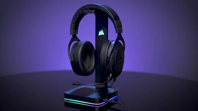 Corsair - HS50 Stereo Gaming Headset Video 3