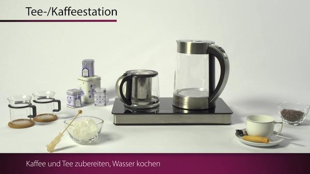 ProfiCook - Tee-/ Kaffeestation PC-TKS 1056 Video 3