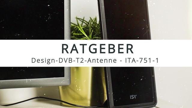 ISY - ITA-751-1 Design-DVB-T2-Antenne Video 3