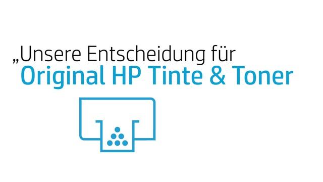 HP - 3 Faktoren für Original HP Tinte & Toner Video 7