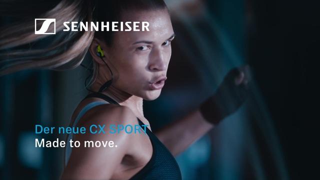 Sennheiser - CX Sport - Made to move Video 3