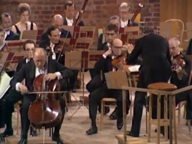 Rostropowitsch / Britten - Tschaikowsky Video 3