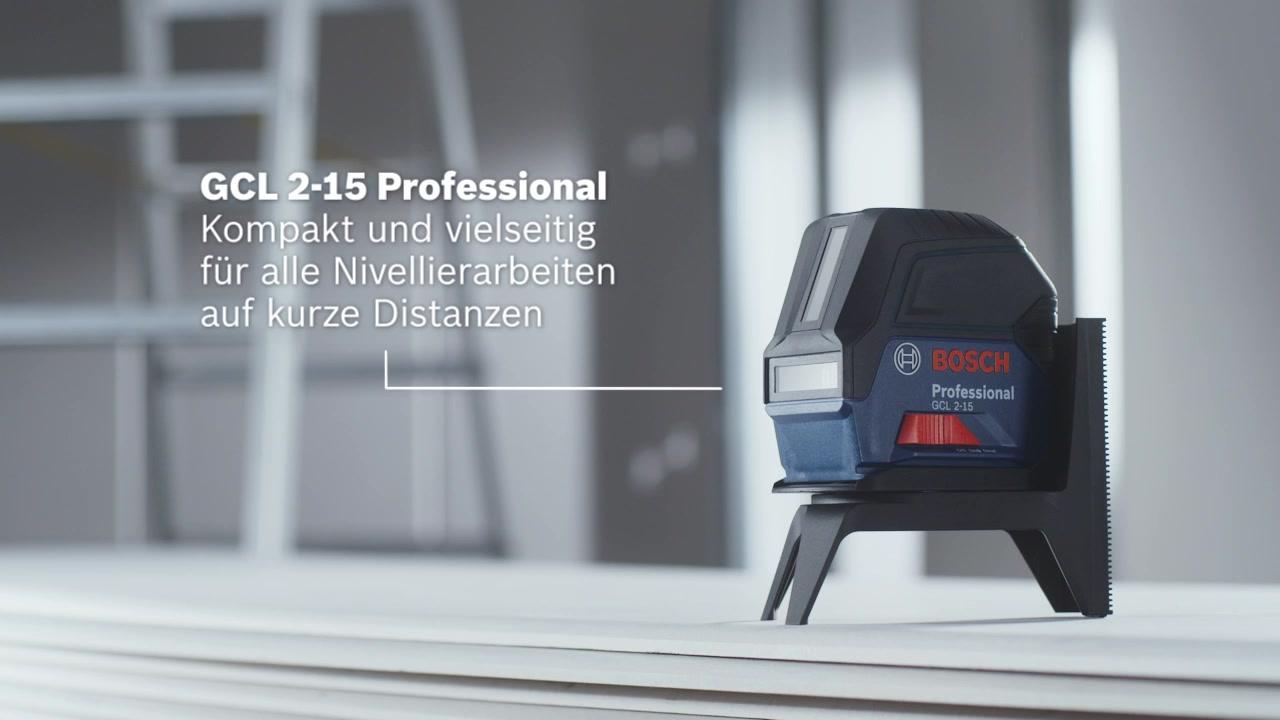Bosch Laser Entfernungsmesser Anleitung : Gcl 2 15 kombilaser bosch professional