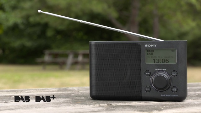 Sony - XDR-S61D Tragbares Digitalradio mit DAB/DAB+ Video 5