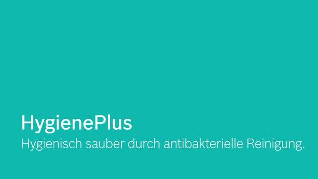 Bosch - HygienePlus Video 9