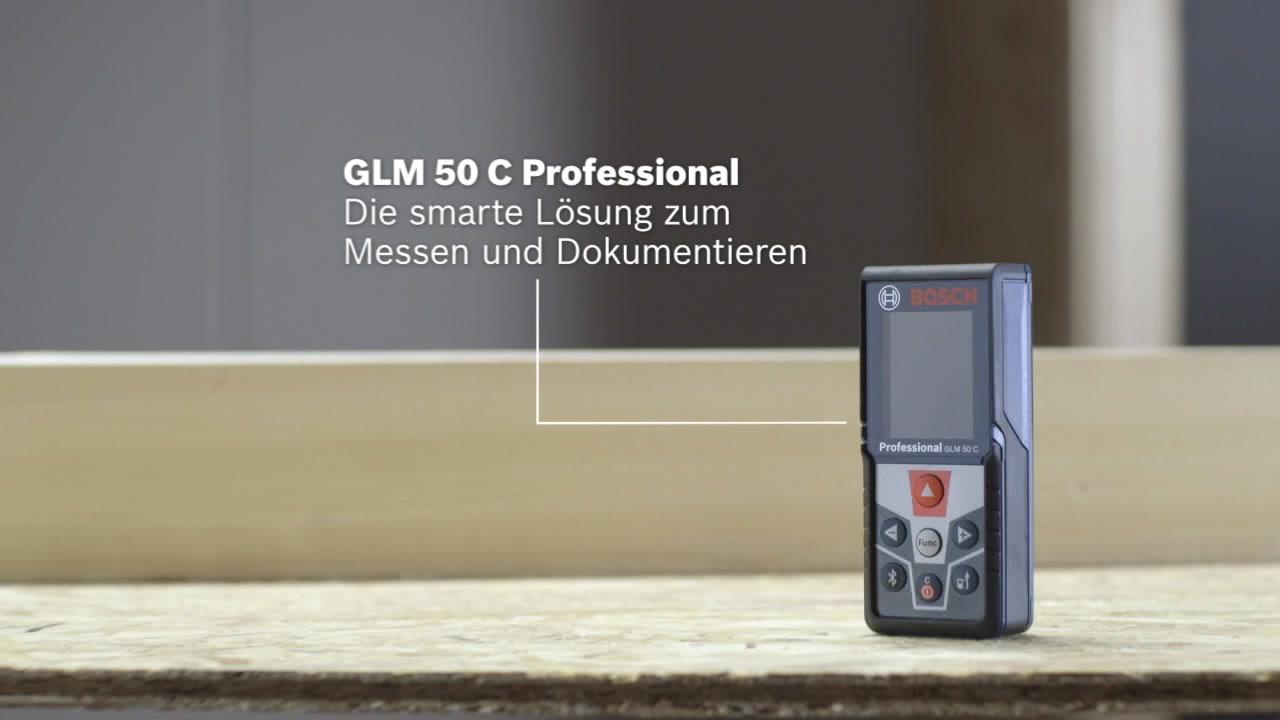 Laser Entfernungsmesser Glm 50 C Professional : Glm c laser entfernungsmesser bosch professional