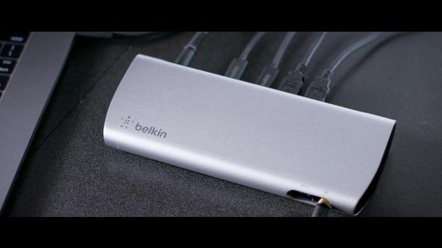 Belkin - Thunderbolt 3 Express-HD-Dock Video 6