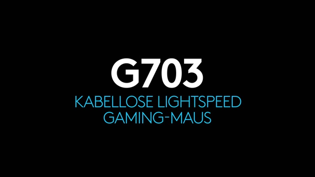 Logitech - G703 kabellose Lightspeed Gaming-Maus Video 3