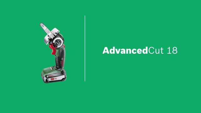 Bosch akku säge advancedcut 18