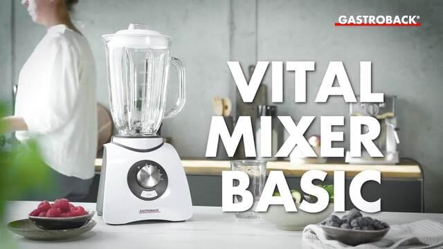 Gastroback - Vital Mixer Basic Video 3