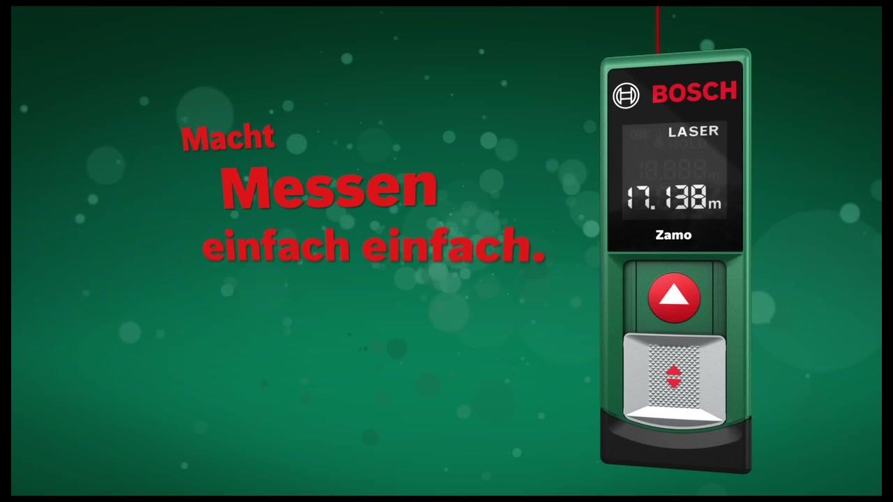Laser Entfernungsmesser Hagebaumarkt : Bosch laserentfernungsmesser »zamo« hagebau.de