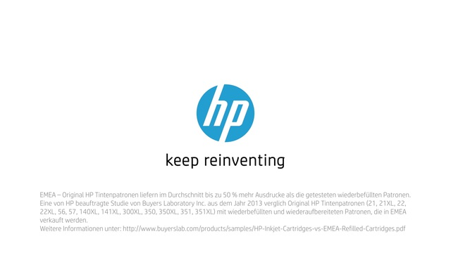 HP - Tinte neu erfinden mit Rob & Thom - Magie Video 6