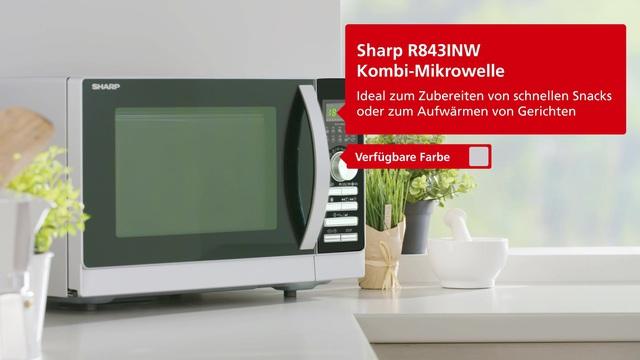 Sharp - R843INW Video 3