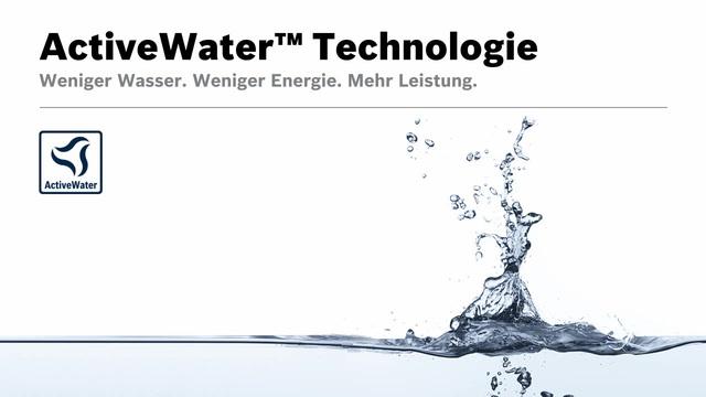 Bosch - ActiveWater Technologie Video 12