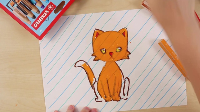 St_22891_How_to_draw_a_cat_Teaser_video_STABILO_Tutorials Video 3