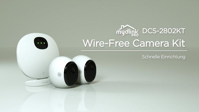 D-Link - mydlink Pro DCS-2802KT Wire-Free Camera Kit - Setup Video 6