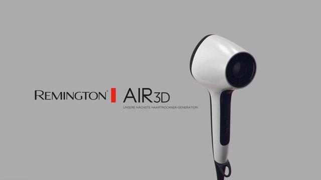 Remington - D7779 Air3D Haartrockner Video 3