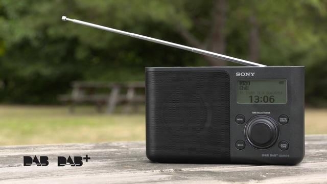 Sony - XDR-S61D Tragbares Digitalradio mit DAB/DAB+ Video 5