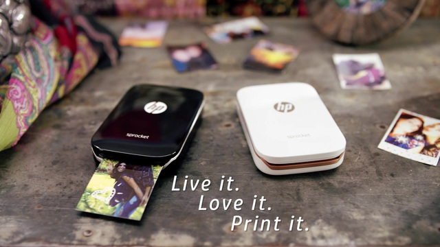 HP - Sprocket Fotodrucker Video 3