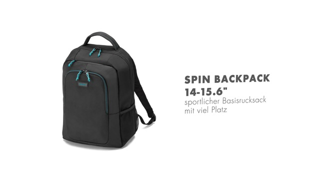 Dicota - Spin Backpack 14-15.6 Video 3