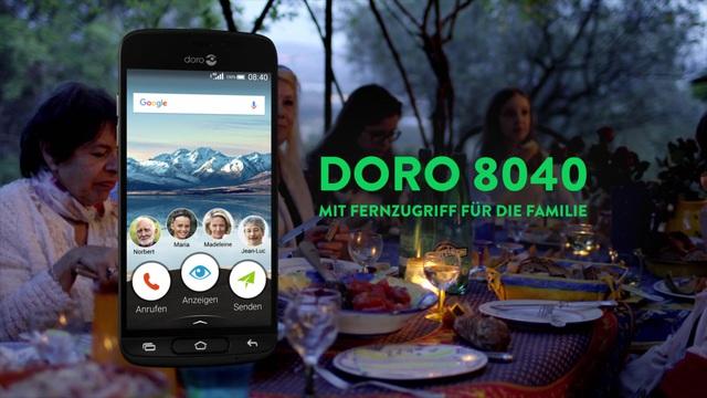 Doro - 8040 Smartphone Video 7