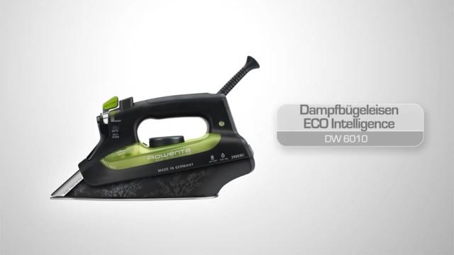 Rowenta - Dampfbügeleisen ECO Intelligence DW6010 Video 3