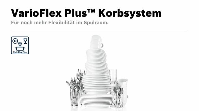 Bosch - VarioFlex Plus Korbsystem Video 11