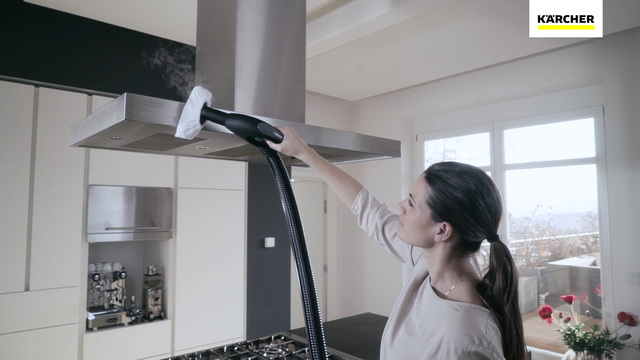 Steam vacuum cleaner SV 7 yellow Video 3