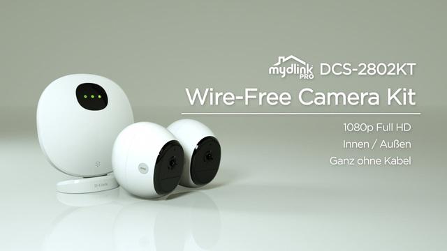D-Link - mydlink Pro DCS-2802KT Wire-Free Camera Kit Video 3