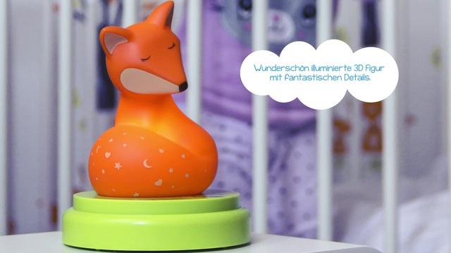 Ansmann - Mobiles Nachtlicht - Fuchs Video 3