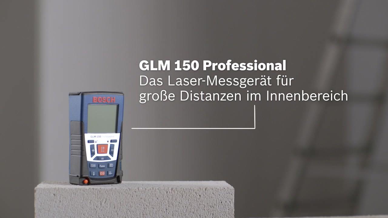 Bosch Entfernungsmesser Bedienungsanleitung : Glm laser entfernungsmesser bosch professional