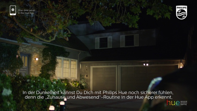 """Philips - Hue - """"zuhause & abwesend""""-Routine Video 18"""