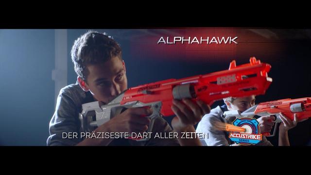 Hasbro - NERF Elite Accustrike Alphahawk / NERF Elite Accustrike Falconfire Video 8