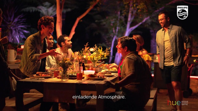 Philips - Hue - Gartenparty Video 14