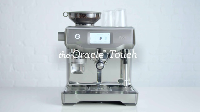 Sage - The Oracle Touch Espressomaschine Video 2