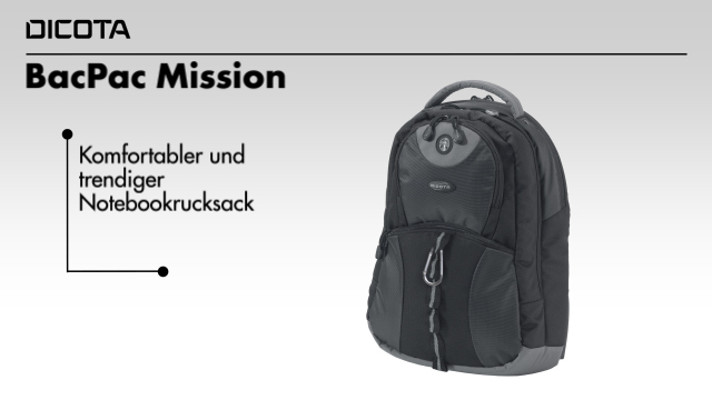Dicota - BacPac Mission Video 3