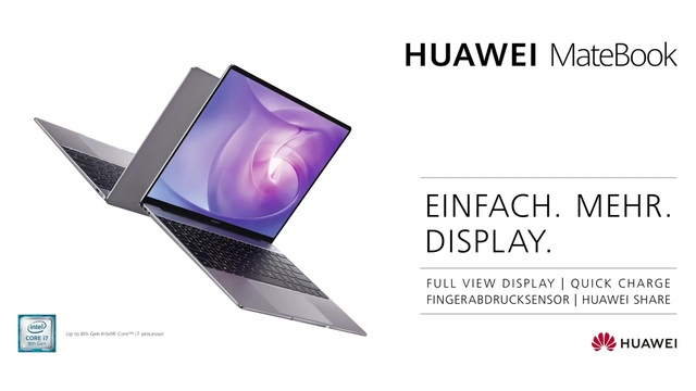 Huawei - MateBook Video 3