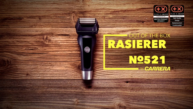 CARRERA - Rasierer No521 Video 3