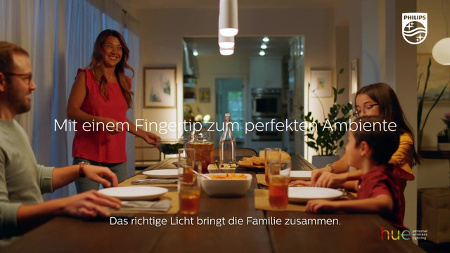 Philips - Hue - Dinner Time Switch Video 10