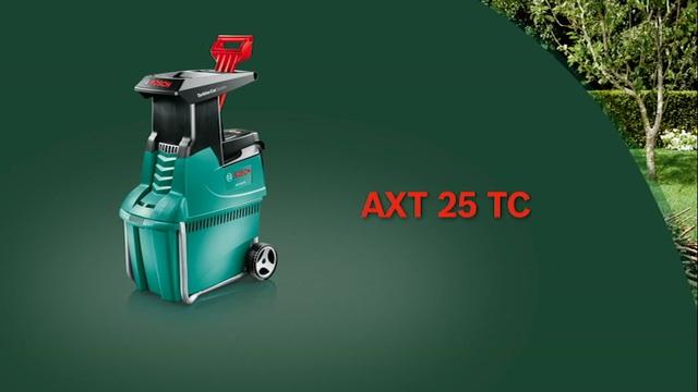 Gartenhäcksler AXT 25 TC Video 2