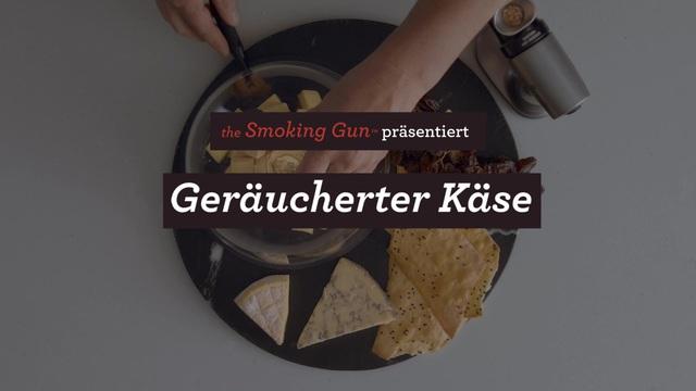 Sage - Breville Smoking Gun - Geräucherter Käse Video 3