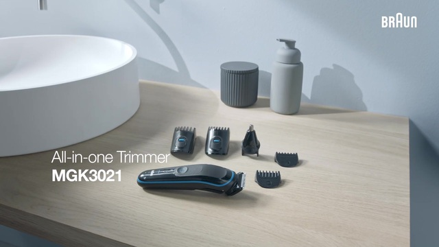 Braun - All-in-one Trimmer MGK3021 Video 3
