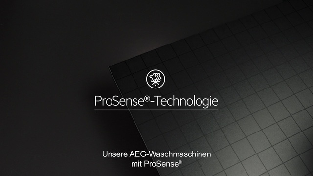 AEG - ProSense Technologie - Doppelt effektive Pflege Video 20
