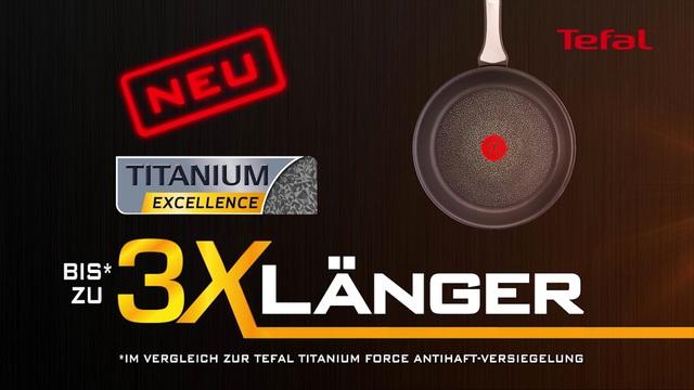 Tefal - Pfannen - Titanium Excellence Video 5