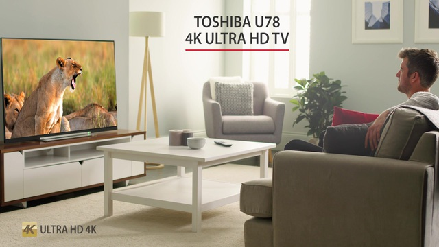 Toshiba - U78 4K Ultra HD TV Video 3